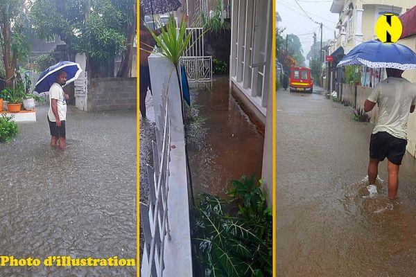 Inondation à l'île Maurice 23 avril 2021