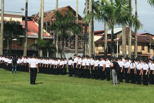 Les jeunes du service national universel commémoration du 18 juin