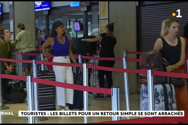 Le dernier vol régulier d'Air France avant confinement total a quitté Tahiti