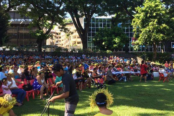 Culture : un concours de Orero rassemble à l'Assemblée de Polynésie