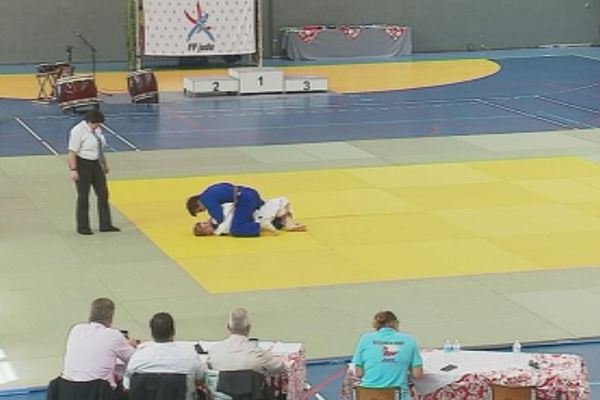 Capture Océania judo salle de l'Anse Vata (avril 2018)