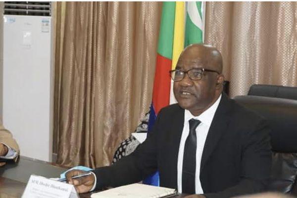 Dhoifir Dhoulkamal, ministre des affaires étrangères des Comores