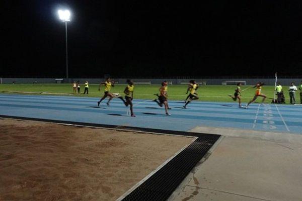 Compétition nocturne de l'USL Montjoly
