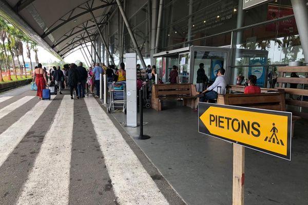 Passagers à Félix Eboué