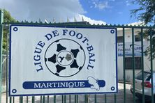 L'entrée de la ligue de football de Martinique