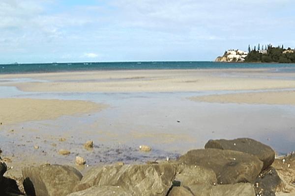 Alerte pollution sur la plage de Magenta