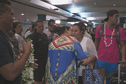 Les jeunes coincés à LAX sont arrivés à Tahiti