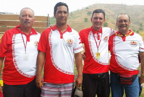 Equipe de baltrap - PNG2015