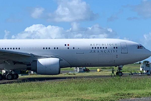 avion présidentiel aéroport de Pamandzi