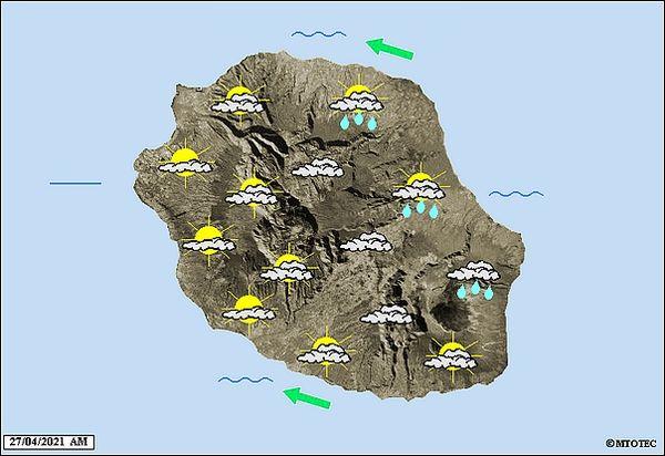 Carte météo 27 avril 2021