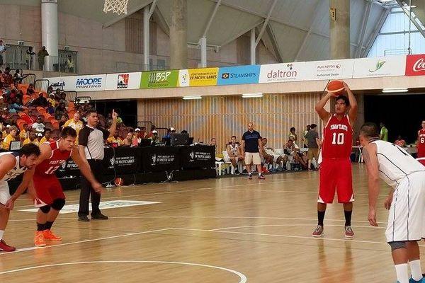 Victoire des basketteurs tahitiens contre Guam sur le score de 76 à 66