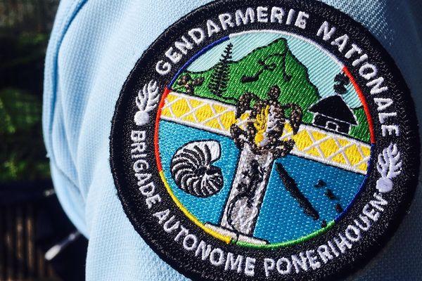 Ecusson gendarmerie de Ponérihouen