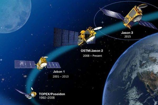 la saga de l'altimétrie spatiale du CNES
