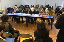 Conférence de presse des enfants dits de la Creuse