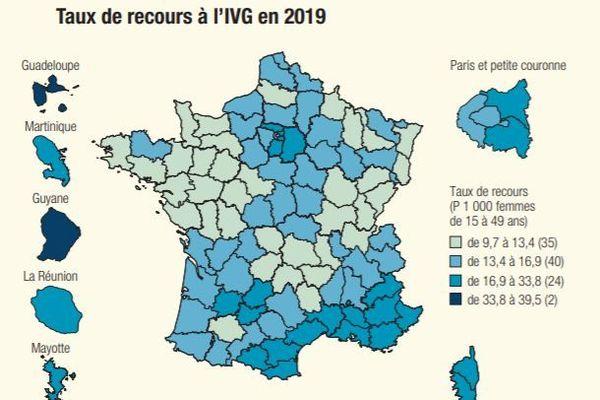 Carte IVG 2019