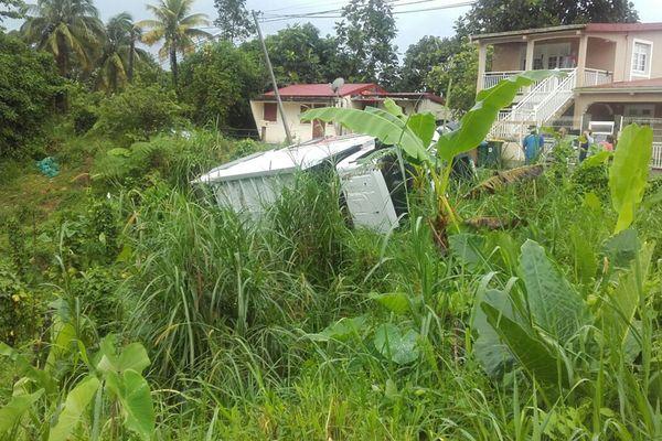 Accident camion ordures ménagères