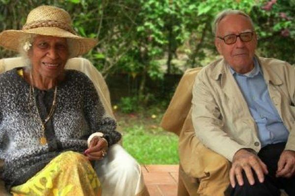 Jean Guiart et son épouse