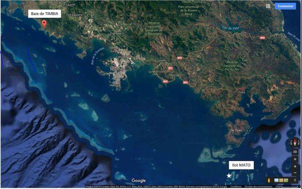 Baie Timbia : effets personnels des 2 pêcheurs disparus le 27 août
