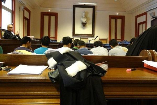 Salle d'audience du tribunal de Cayenne