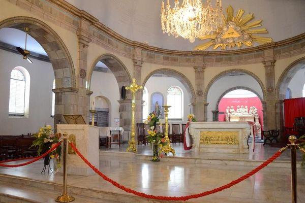 Le coeur de la Cathédrale de Basse-Terre