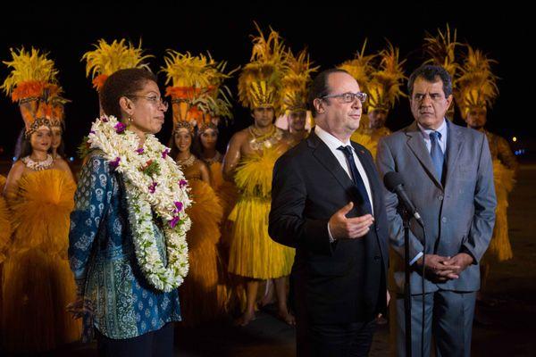 Arrivée de François Hollande