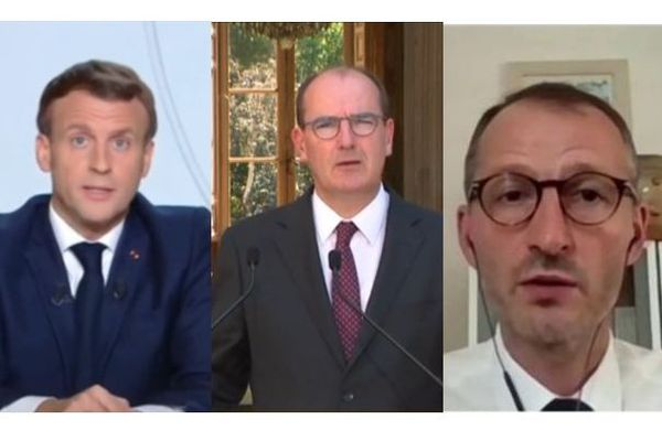 Macron Castex Rochatte