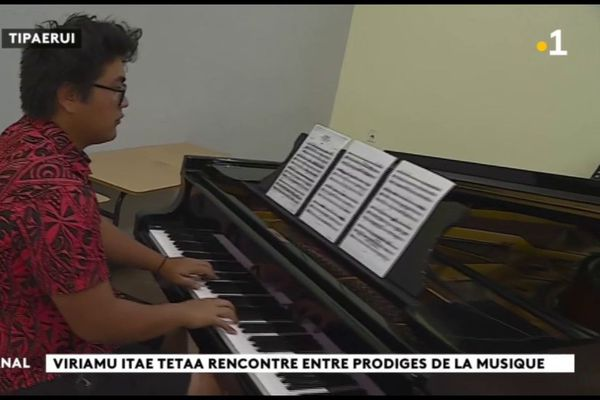 Un jeune prodige tahitien admis au conservatoire supérieur de paris