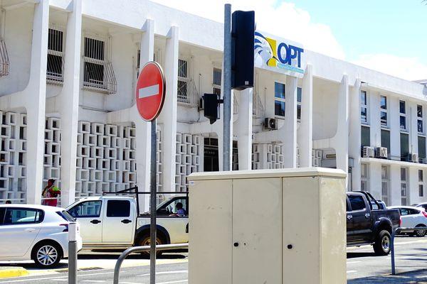 L'agence centrale de l'OPT, à Nouméa, poste