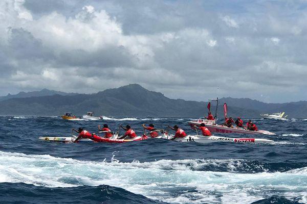 Air Tahiti, vainqueur de la 1ère étape