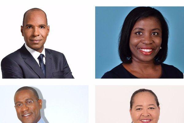 Les 4 députés de la Guadeloupe