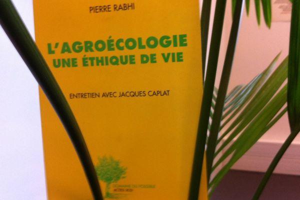"""""""L'agroécologie, une éthique de vie"""" aux éditions Actes Sud"""
