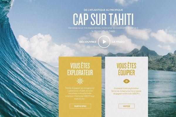 concours voyage tahiti
