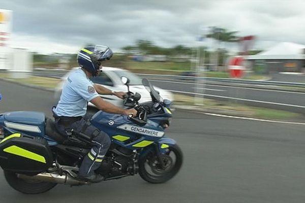 20180216 Contrôle vitesse Gendarmerie