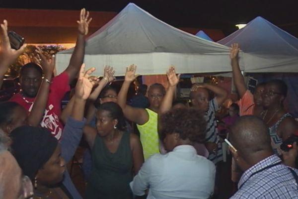 Fin de grève à la Mairie de Matoury