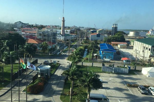 Georgetown capitale de la Guyana