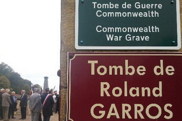 Tombe de Roland-Garros