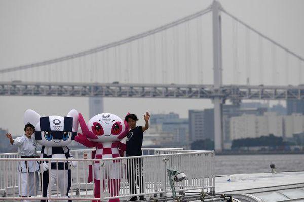 Mascottes des JO-2020 au Japon