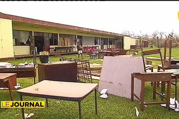 Vanuatu : les écoles durement touchées