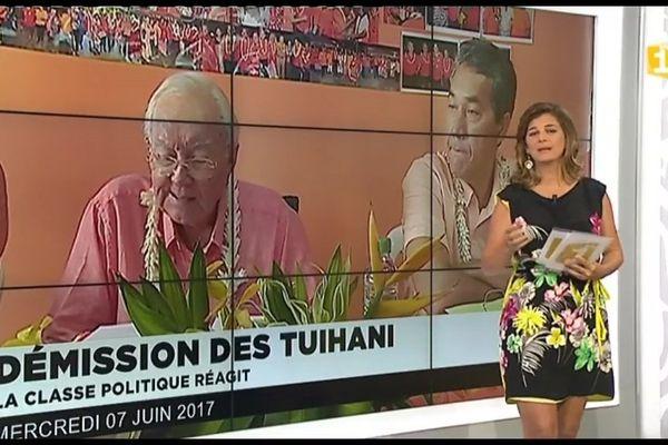 Démission des Tuihani, la classe politique réagit