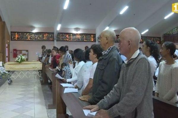 Obsèques de Giovani à Salazie Sept 2017