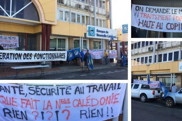 Services Fisaux en grève illimitée