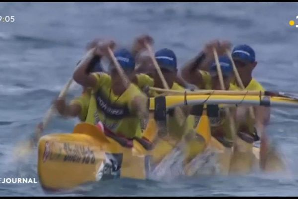 Hawaiki nui 1ere étape : victoire sans partage de Shell va'a