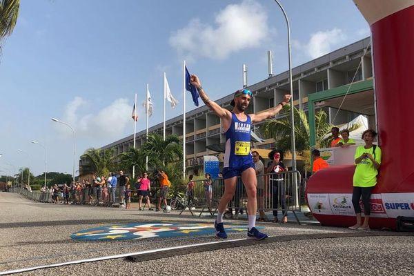 Victoire de Gilles Rubio au 29è marathon de l'Espace