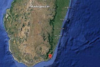 Carte du sud de Madagascar