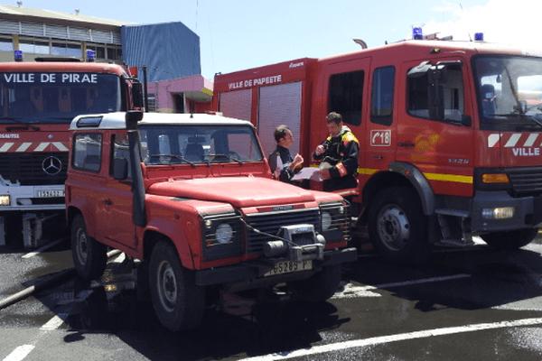 Les pompiers s'entraînent à l'approche de la saison des pluies