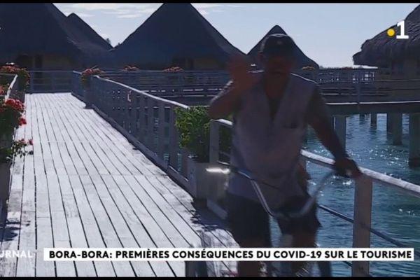 Forte inquiétude pour le tourisme à Bora Bora