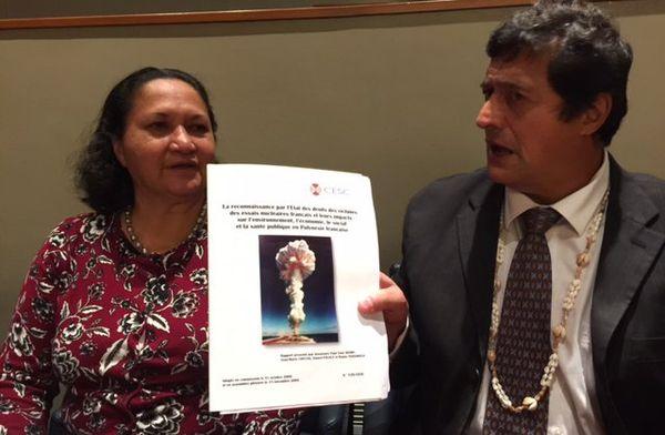 Patrick Galenon à l'ONU