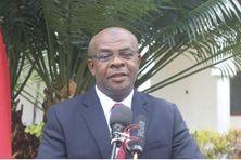 Anissi Chamsidine, gouverneur de l'île d'Anjouan