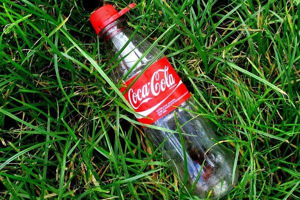 Bouteille Coca vide 2