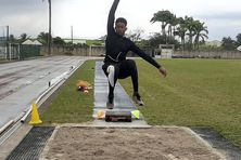 Ylann Bizasene, minime de 14 ans, a fait un saut de 7,19 mètres le 24/01/2021